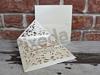 Imagine Invitatii nunta 5448 dantelă sidef și bijuterie