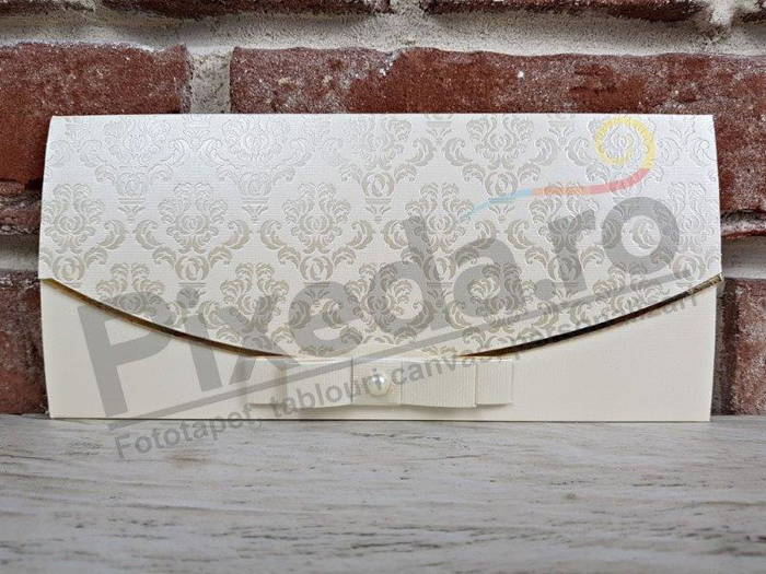 Imagine Invitatii nunta 5487 fundiță în stil baroc