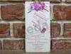 Imagine Invitatii nunta 5593 rustic ornamente florale