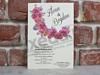 Imagine Invitatii nunta 5611 stil rustic cu flori