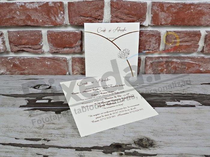 Imagine Invitatii nunta 5624 inimioară