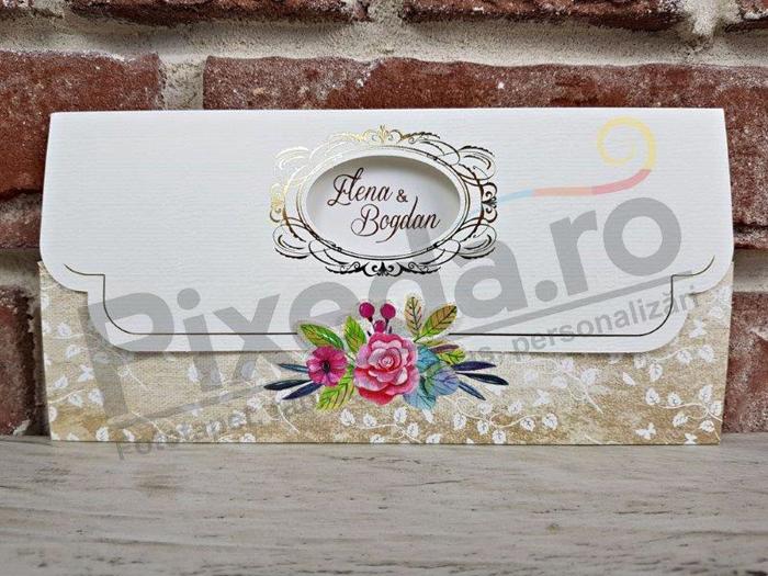 Imagine Invitatii nunta 5630 design floral