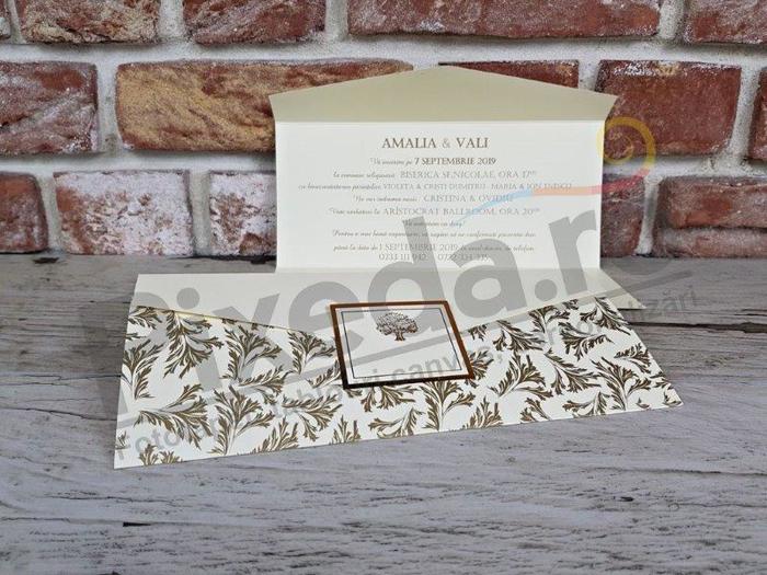 Imagine Invitatii nunta 5635 model natură