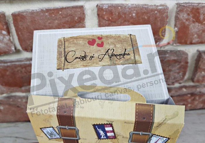 Imagine Invitatii nunta 11547 valiză