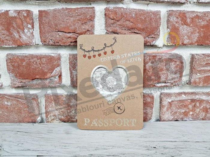 Imagine Invitatii nunta 11548 pașaport