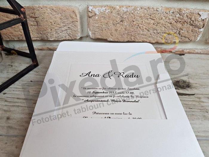 Imagine Invitatii nunta 2566 ramă relief