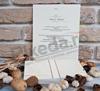 Imagine Invitatii nunta 2619 bentiță elegantă