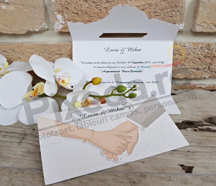 Imagine Invitatii nunta 2630 Ține-mă de mână!