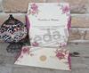 Imagine Invitatii nunta 2674 bujori roz