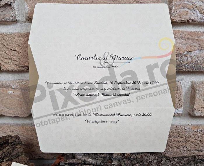 Imagine Invitatii nunta 2703 sclipici
