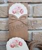 Imagine Invitatii nunta 2709motive florale roz