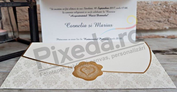Imagine Invitatii nunta 2715 stil baroc