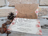 Imagine Invitatii nunta 2717 design floral și fluture
