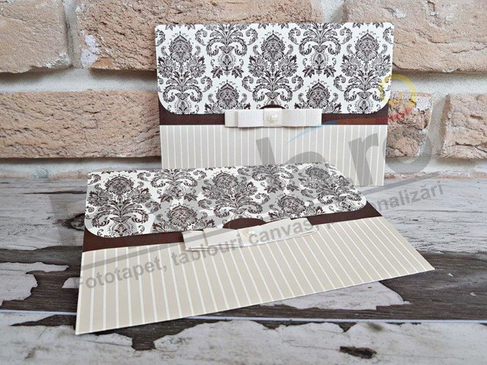 Imagine Invitatii nunta 2751 baroc elegant