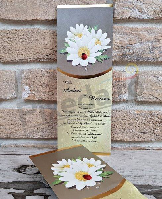 Imagine Invitatii nunta 2753 margarete