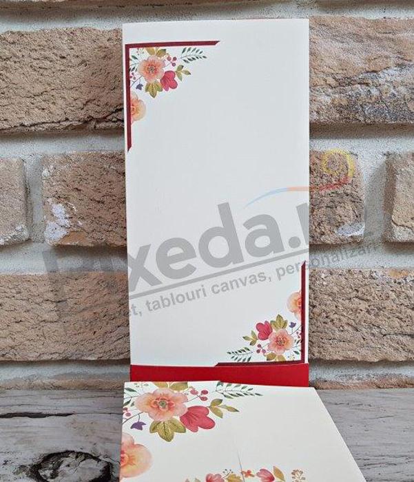 Imagine Invitatii nunta 2781 frunze arămii