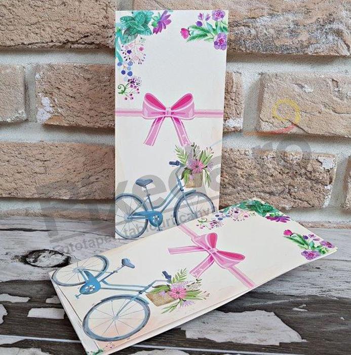 Imagine Invitatii nunta 2784 bicicletă
