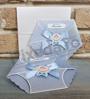 Imagine Invitatii de botez 8026 scutecel albastru