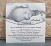 Imagine Invitatii de botez 8033 poză bebeluș