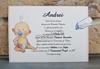 Imagine Invitatii de botez 8040 inimioare și bebeluș