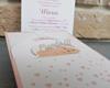 Imagine Invitatii de botez 8050 inimioare roz și bebeluș