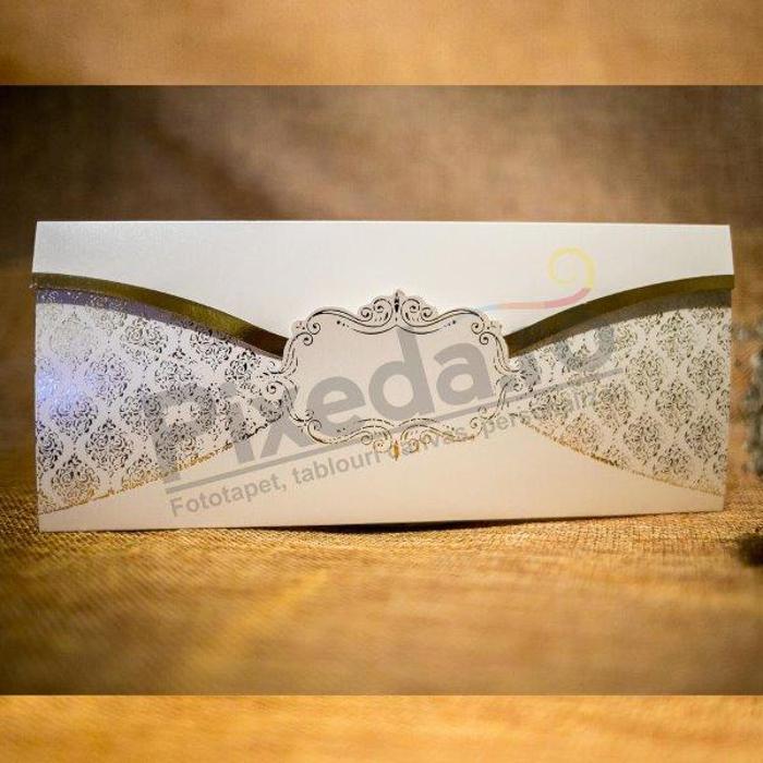 Imagine Invitatii nunta 2024 ornamente stilizate