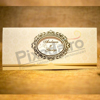 Imagine Invitatii nunta 2026 ramă vintage aurie