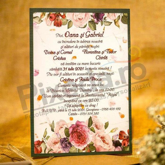 Imagine Invitatii nunta  2030 decupaj inimă