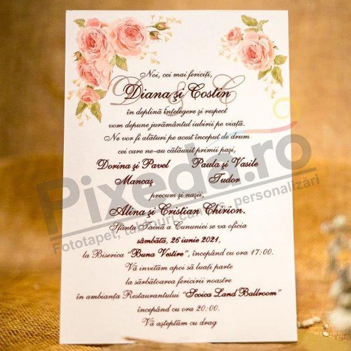 Imagine Invitatii nunta 2035 poartă