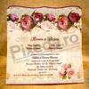 Imagine Invitatii nunta 2036 model floral rustic