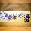 Imagine Invitatii nunta 4006 motive florale mov