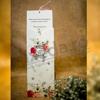 Imagine Invitatii nunta 4018 design floral și decupaj