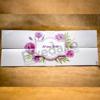 Imagine Invitatii nunta 4021  flori roz și bentiță