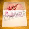 Imagine Invitatii nunta 4026 motiv floral orhidee
