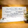 Imagine Invitatii nunta 5015 miri și fluturi albi