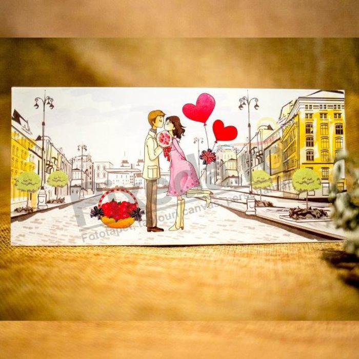 Imagine Invitatii nunta 5023 îndrăgostiți