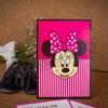 Imagine Invitatii de botez 100 roz Minnie Mouse