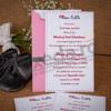 Imagine Invitatii de botez 102 bebeluș hăinuțe roz