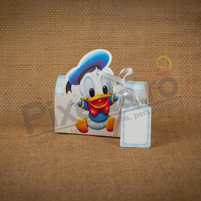 Imagine Invitatii de botez 105 cutie baby Donald Duck