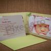 Imagine Invitatii de botez 111 fotografie personalizată