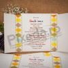 Imagine Invitatii de botez 119 carouri și animăluțe colorate