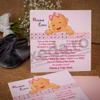 Imagine Invitatii de botez 122 roz bebeluș