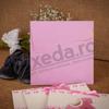 Imagine Invitatii de botez 130 roz sunt fetiță