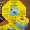 Imagine Invitatii de botez 134 cutie minioni