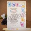 Imagine Invitatii de botez 138 bebeluș și ursuleți