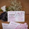 Imagine Invitatii de botez 143 biberon roz