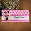 Imagine Mape de bani botez 108 Minnie Mouse și buline roz