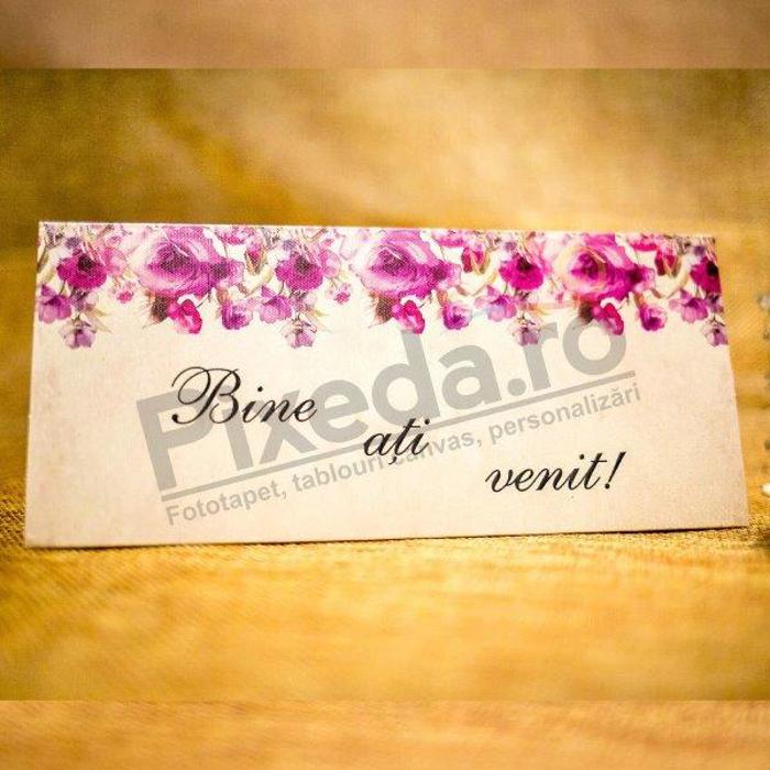 Imagine Mape de bani nunta 5013 trandafiri roz