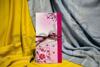 Imagine Invitatii nunta 208 elemente florale roz