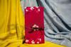 Imagine Invitatii nunta 209 roșie flori de cireș